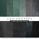 Real Chalkboard Digital Paper, scrapbook backgrounds.