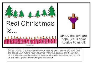 Real Christmas Is...Mini-Book to Celebrate the Meaning of Christmas