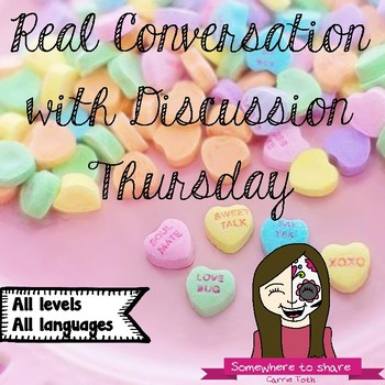 Real Conversation with Discussion Thursday