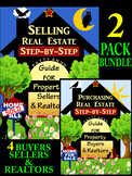 Real Estate 2-Book Bundle: Sellers, Buyers & Realtor Agent Step-by-Step Guidance