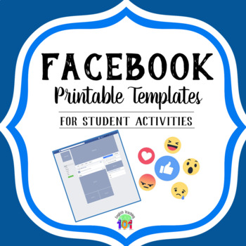 It is a picture of Universal Printable Facebook Template