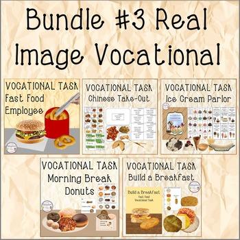 BUNDLE #3 Real Image Vocational Tasks