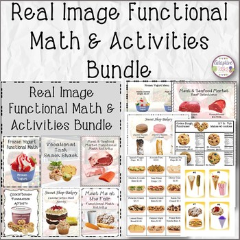 Real Image Functional Math and Activities Bundle