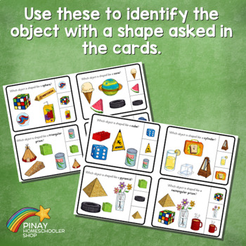 Real Life 3D Shapes Learning Pack
