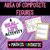 Real-Life Area of Composite Figures