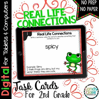 Real Life Connections Digital Task Cards - Paperless Option