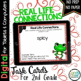 Real Life Connections Task Cards - Digital for Google Classroom Use