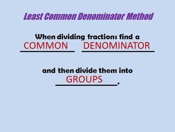 6.NS.A.1 Making Sense of Dividing Fractions