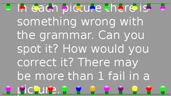 Real Life Grammar Fails