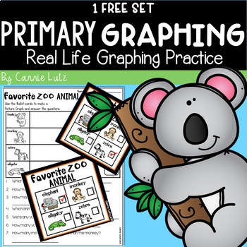 Real Life Graphing Freebie Favorite Zoo Animal