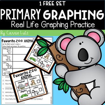 Real Life Graphing Freebie Favorite Zoo Animal