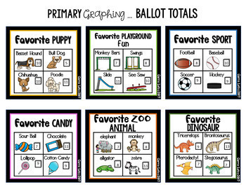 Real Life Graphing {Tally, Picture and Bar Graphs}