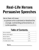 Real-Life Hero Speeches