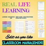 Real Life Learning Classroom Management Bundle