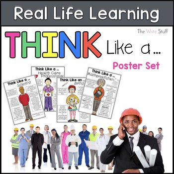 Real Life Learning Poster Set