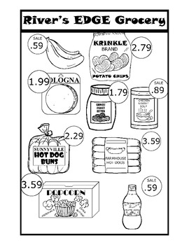 Real Life Math: Grocery Shopping