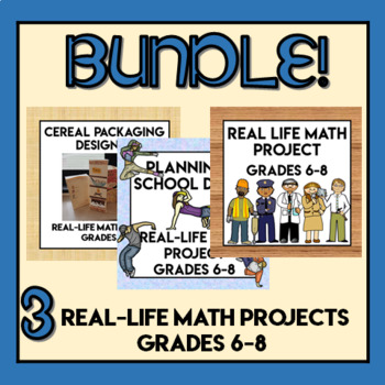 Real-Life Math Projects BUNDLE!