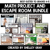 Real Life Math Projects and Escape Rooms (4-5): Bundle of Ten
