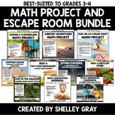 Real Life Math Projects for Grades 3-4 | Bundle of Ten