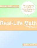 Real-Life Math Volumes 1 and 2