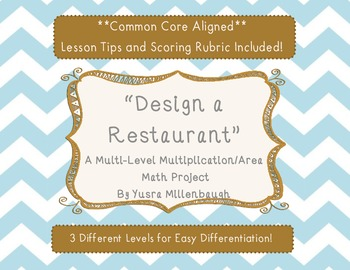 Real Life Multiplication Project - Design a Restaurant