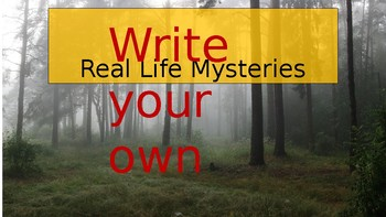 Real Life Mystery Writing
