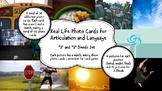 Real Life Photo Cards - S and S Blends for Articulation an