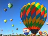 Real Life Photograph - Hot Air Balloon Races
