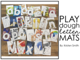 Real Life Pictures Play Dough Letter Mats (lowercase letters)