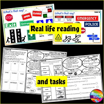 Real Life Reading Activities Set 2