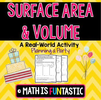 Real-Life Surface Area & Volume