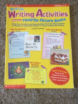 Real-Life Writing Activities Based on Favorite Picture Books