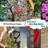 Real Nature Photo Digital Papers