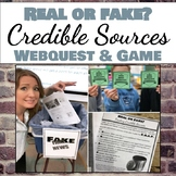 Real News vs. Fake News: Evaluating Online Sources Webques