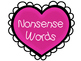 Real & Nonsense Word Sort