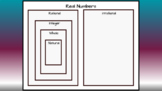 Real Number Drag & Drop-DISTANCE LEARNING