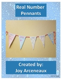Real Number Pennants