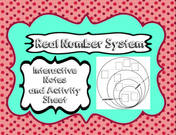 Real Number System Interactive Notes
