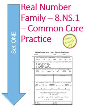 Real Number System - 8.NS.2 Common Core Practice Problems