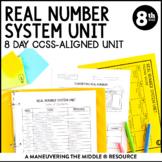 8th Grade Real Number System Unit: 8.NS.1, 8.NS.2, 8.EE.2