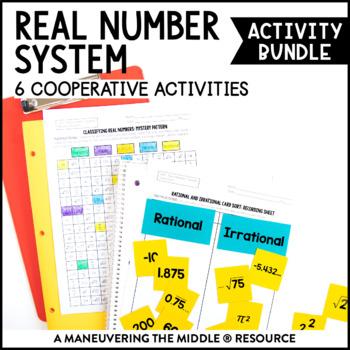 Real Number System Activity Bundle