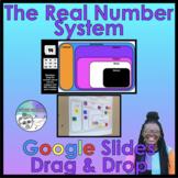 Real Number System Activity Google Slides Drag & Drop