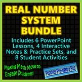 Real Number System Bundle - Distance Learning