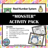 Real Number System - Classification Activity Bundle