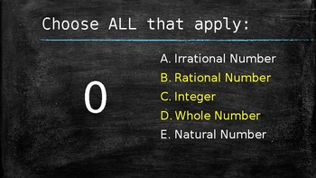 Real Number System: Classifying Numbers