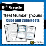 8.EE.2 Real Number System - Cube and Cube Roots