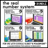 Real Number System Digital Math Activity Bundle   8th Grade Math