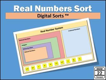 Real Number System Digital Sort