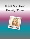 """Real Number System """"Family Tree"""" Project"""