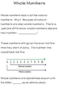 Real Number System Notes